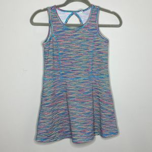 Ideology colorful peplum style athletic tank